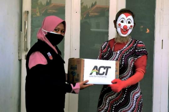 ACT-MRI salurkan bantuan pangan warga terdampak PPKM di Madiun