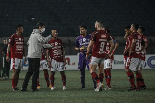 Liga 1 mundur, Coach Teco terus motivasi pemain Bali United
