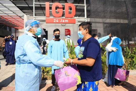Kasus COVID-19 di Surabaya mulai landai