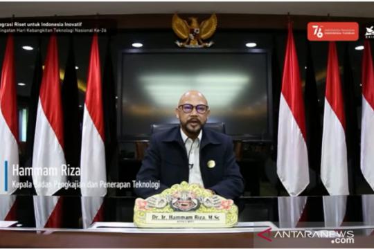 BPPT: Kebangkitan teknologi Indonesia wujudkan kemandirian bangsa