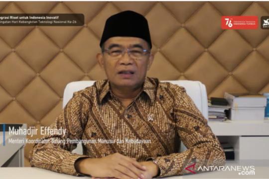 Menko PMK harapkan BRIN tingkatkan kompetensi riset Indonesia