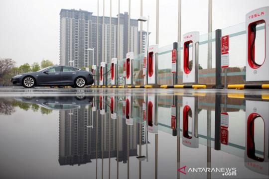 Tesla jual 32.968 kendaraan buatan China pada bulan Juli