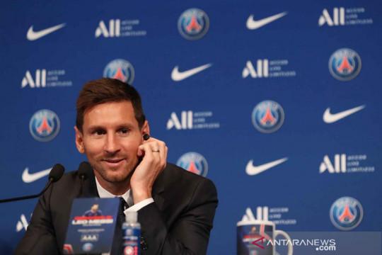Pochettino: Lionel Messi bisa lakoni debutnya bersama PSG pekan depan