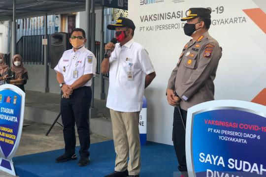 Malioboro dan Stasiun Tugu Yogyakarta menjadi kawasan wajib vaksinasi