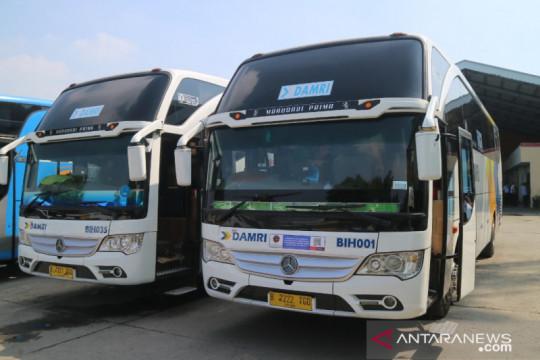 Masih setop sejumlah layanan, DAMRI berlakukan syarat calon penumpang