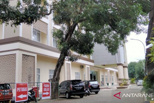 Asrama Haji Makassar rawat pasien COVID-19 dari luar Sulsel
