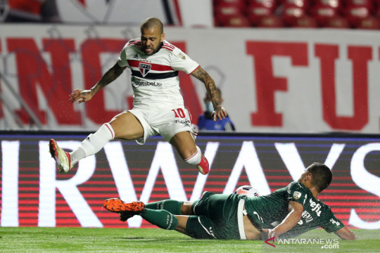 Copa Libertadores: Sao Paulo vs Palmeiras berakhir imbang