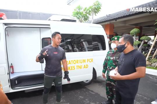 Kasad pastikan kesiapan ambulans mini ICU dukung Garuda Shield 2021