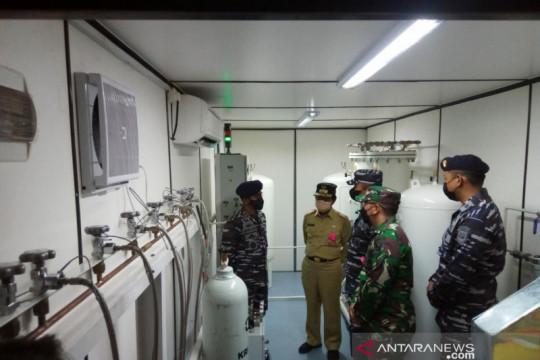 KRI Semarang-594 mampu produksi 72 ribu liter oksigen per hari