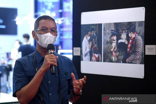 Pameran alutsista TNI digelar di sekitar Istana Kepresidenan