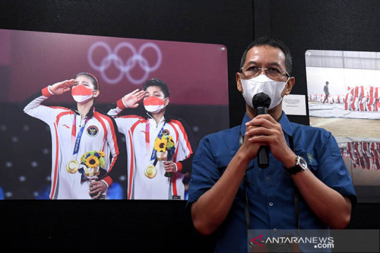Presiden apresiasi Pameran Foto Bulan Kemerdekaan HUT Ke-76 RI