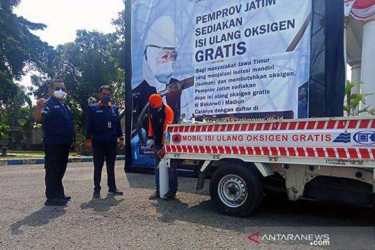 Pemprov Jatim luncurkan mobil reaksi cepat layanan oksigen