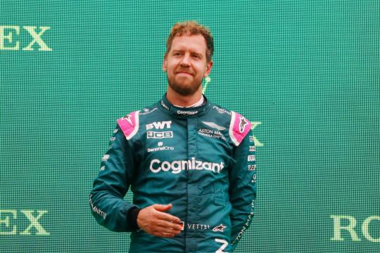Aston Martin cabut permohonan banding terhadap diskualifikasi Vettel