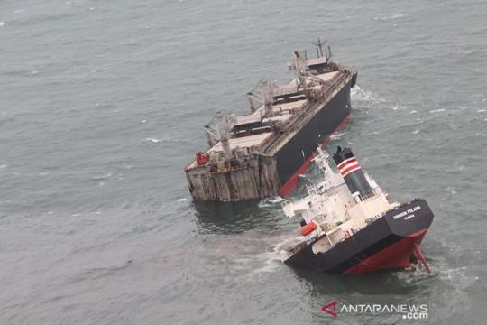 Kapal berbendera Panama kandas di Jepang utara