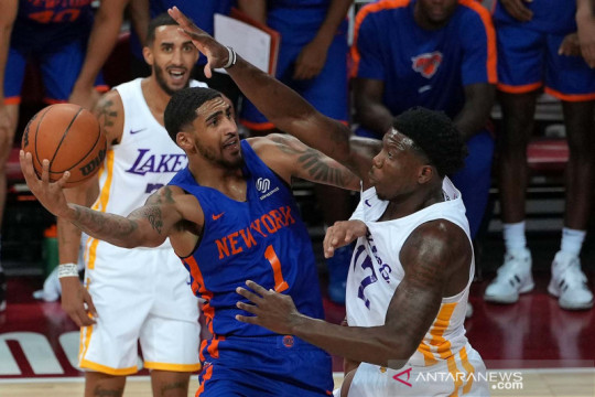 NBA Summer-League: New York Knicks kalahkan LA Lakers 111-96
