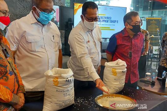 Pemerintah salurkan bantuan beras PPKM tahap II, untuk 8,8 juta KPM