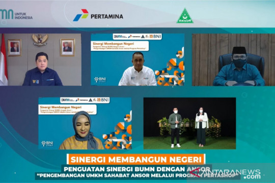 Gandeng UMKM Ansor, BNI - Pertamina genjot Pertashop dan Agen46