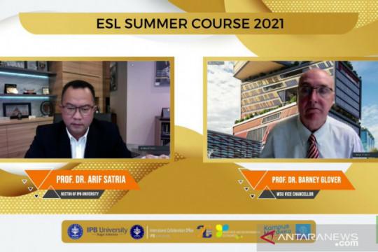 "13 negara ikuti ESL ""Summer Course"" 2021 IPB University"