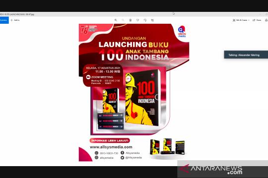 Buku 100 Anak Tambang Indonesia semarakkan bulan kemerdekaan