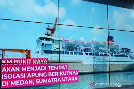 Pemkot Medan wujudkan isolasi apung di kapal