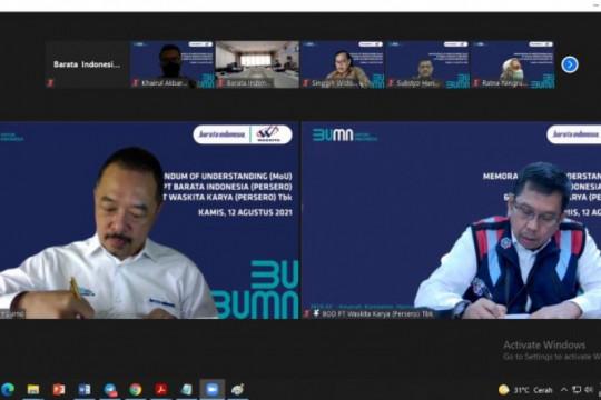 Dongkrak kinerja, Waskita Karya dan Barata Indonesia teken kerja sama