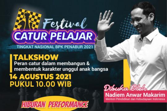 Mendikbudristek akan buka Festival Catur Pelajar Nasional BPK Penabur