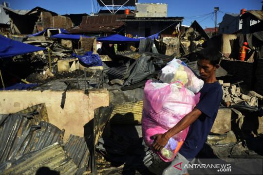 Pascakebakaran 110 rumah di Makassar