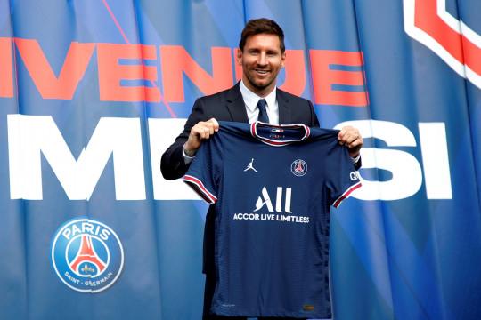 PSG masih tanpa Messi saat dijamu Brest nanti malam