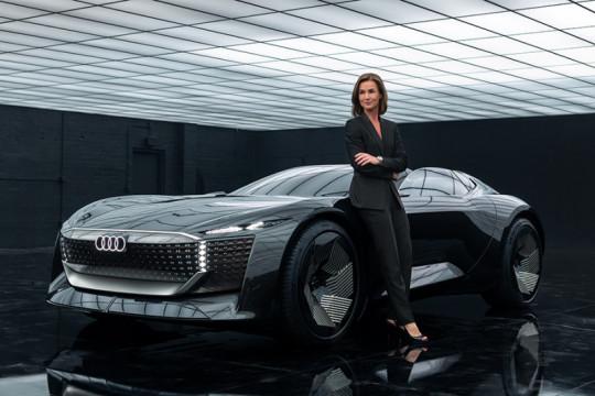 Audi skysphere concept berkemudi otonom dikenalkan pekan ini