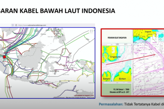 Pemerintah tegaskan penataan kabel laut cegah konflik pemanfaatan