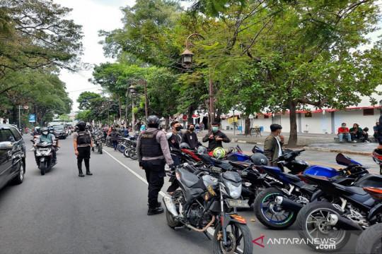 """Polresta Surakarta tilang 32 sepeda motor berknalpot """"brong"""""""
