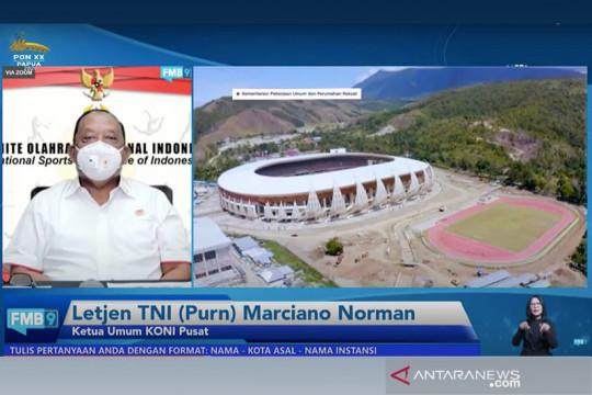 KONI Pusat sebut mayoritas atlet PON Papua sudah divaksin