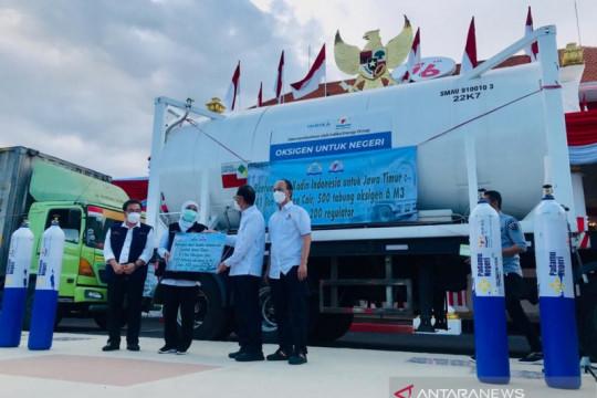 Kadin Indonesia bantu 41 ton oksigen cair dan 500 tabung untuk Jatim