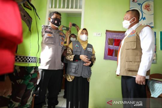 Satgas apresiasi pelaksanaan posko PPKM Mikro Desa di Lampung Selatan