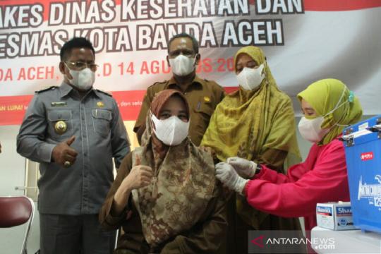 Ketua DPRK minta vaksinasi booster untuk nakes Banda Aceh dipercepat