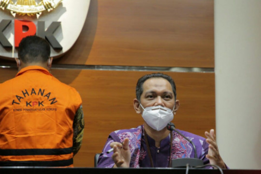 KPK jelaskan konstruksi perkara eks pejabat Ditjen Pajak Dadan Ramdani