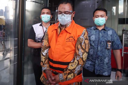 Kemarin, KPK tahan tersangka suap hingga terduga teroris ditangkap