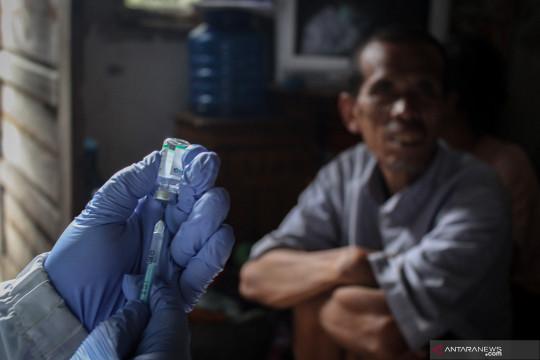 50 orang dengan gangguan jiwa ikut vaksin di Jakarta Barat