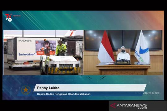 Indonesia terima kedatangan 5 juta dosis vaksin jadi Sinovac