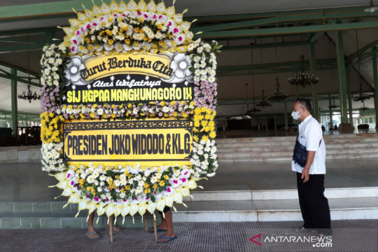 Raja Mangkunegara IX akan dimakamkan dengan adat Mataram
