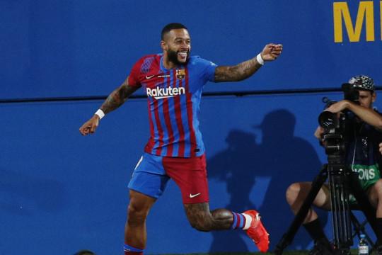 Barcelona berhasil daftarkan Memphis Depay, Eric Garcia dan Rey Manaj