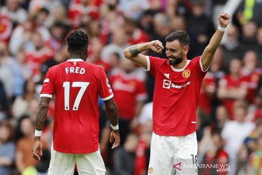 Trigol Bruno Fernandes antar MU awali musim lumat Leeds 5-1
