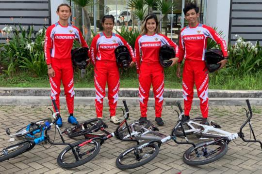 Timnas BMX junior buat sejarah dengan tembus semifinal Kejuaraan Dunia