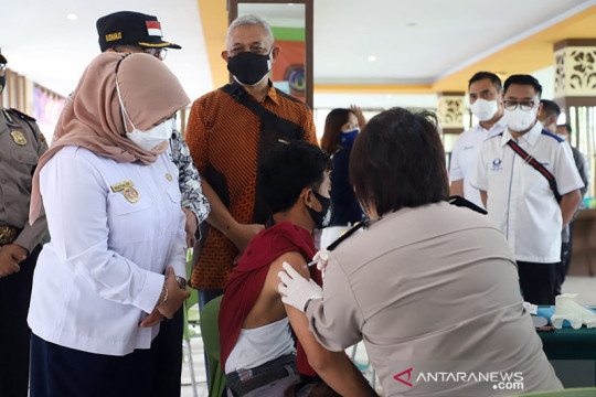 1.500 pekerja sektor migas di Sleman ikuti vaksinasi COVID-19