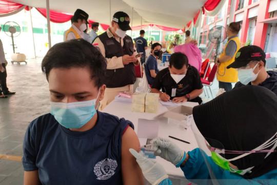 Vaksinasi warga binaan di Rutan Salemba capai 97 persen