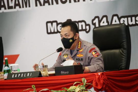 Kapolri imbau warga Medan jalani isolasi di fasilitas isoter