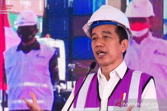 Presiden Jokowi: Bila stok dalam negeri cukup, silakan ekspor beras