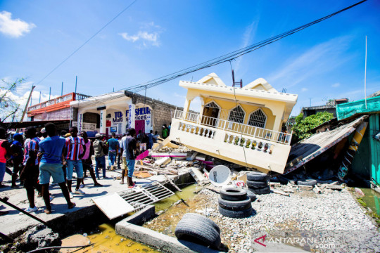 Gempa 7,2 magnituda guncang Haiti