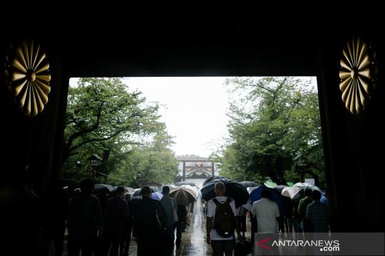Aktor China dilarang tampil setelah foto di kuil Yasukuni Jepang