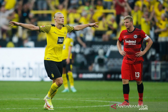 Dortmund buka musim menangi laga hujan tujuh gol kontra Frankfurt